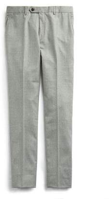 Todd Snyder Stretch Wool Tab Front Trouser in Light Grey