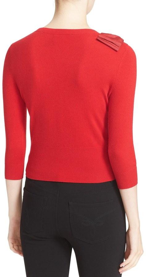 Ted Baker London &Callah& Bow Detail Crewneck Sweater 2