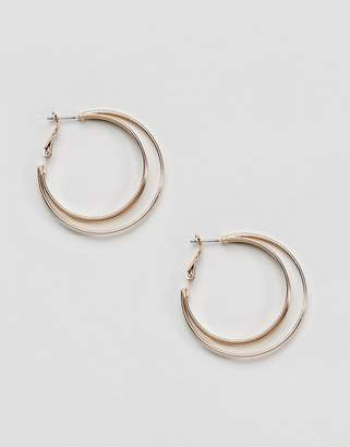 New Look Double Hoop Earrings
