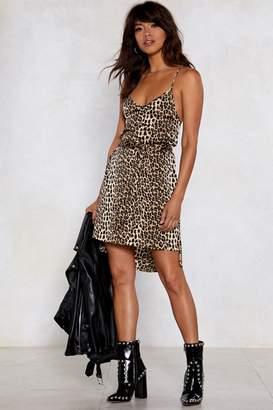 Nasty Gal Wild Heart Leopard Dress