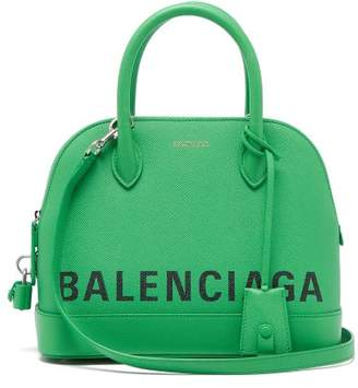 Balenciaga Ville Top Handle S Bag - Womens - Green