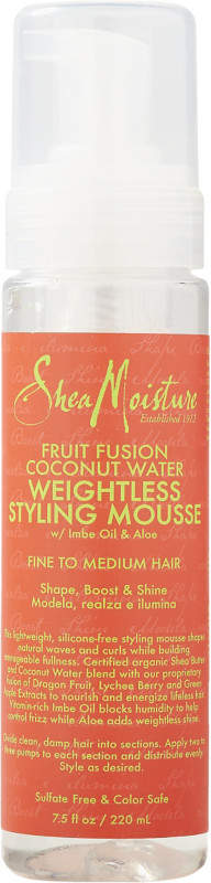 SheaMoisture Fruit Fusion Hair Mousse