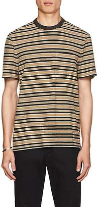 James Perse Men's Striped Slub Cotton T-Shirt