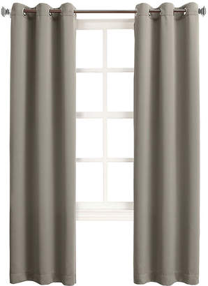 Sun Zero Sun ZeroTM Talon Room-Darkening Grommet-Top Curtain Panel