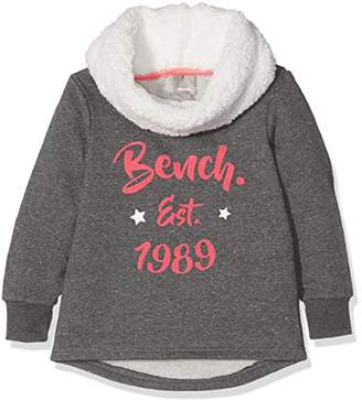 Bench Girl's Graphic Overhead Sweatshirt,(Manufacturer Size: 11-12)