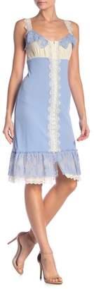 Petit Pois Button Down Lace Dress