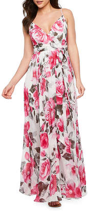 PREMIER AMOUR Premier Amour Sleeveless Floral Maxi Dress