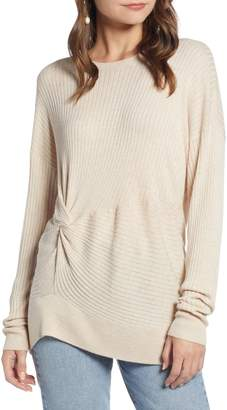 Something Navy Knot Detail Pullover