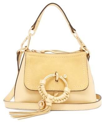 See by Chloe Joan Mini Leather Cross Body Bag - Womens - Light Yellow
