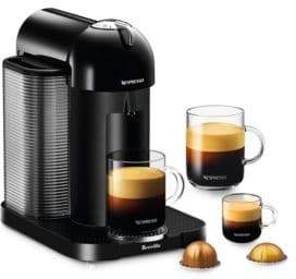 Nespresso Vertuo Coffee Machine BNV220BLK1BU