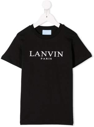 Lanvin Enfant logo T-shirt