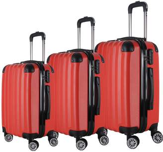 Brio Luggage 1331 Hard Side Spinner Set