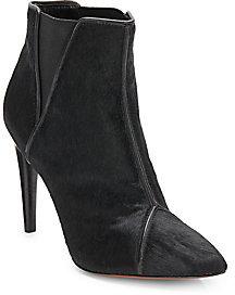 Rachel Zoe Fabian Dyed Calf Hair Ankle Boots