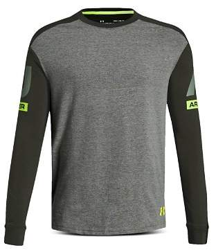 Under Armour Boys' Sportstyle Long-Sleeve Color-Block Active Tee - Big Kid