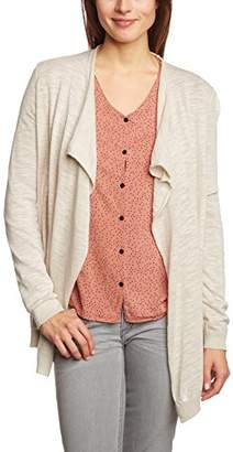 QS By S.oliver Women's 45.899.64.0286 Plain Shawl Collar Long Sleeve Cardigan,(Manufacturer size: XS)