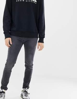 Diesel Sleenker skinny fit jeans in 069EQ