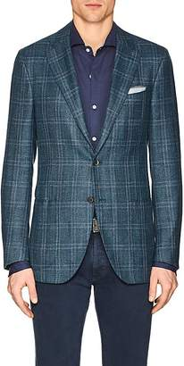 Isaia Men's Sanita Plaid Wool-Blend Two-Button Sportcoat