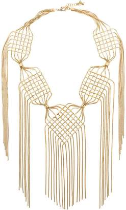 Rosantica Aquilone large fringed necklace