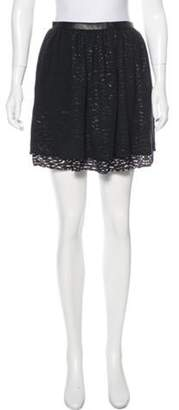 Timo Weiland Mini Pleated Skirt Black Mini Pleated Skirt