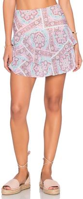 ale by alessandra Prairie High Waist Mini Skirt $108 thestylecure.com