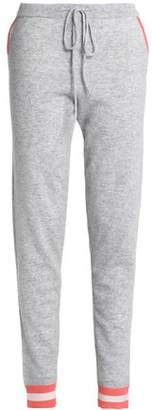 Chinti and Parker Intarsia Wool And Cashmere-Blend Track Pants