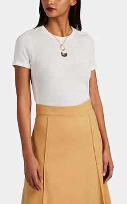 Barneys New York Women's Cashmere-Cotton T-Shirt - White