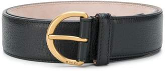 Gucci bee plaque belt