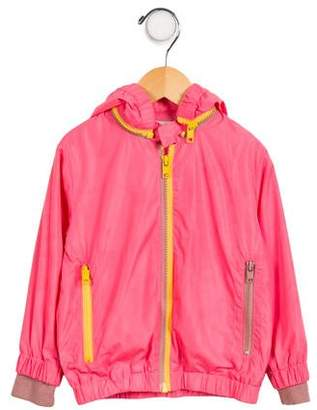 Stella McCartney Girls' Hooded Lightweight Jacket