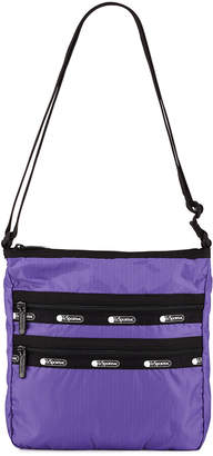 Le Sport Sac Candace North-South Zip-Pocket Crossbody Bag