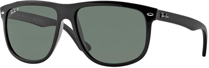 Ray-Ban Oversize Polarized Wayfarer Sunglasses