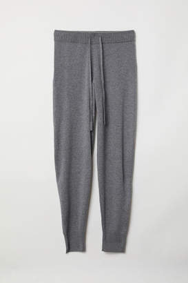 H&M Cashmere Joggers - Gray