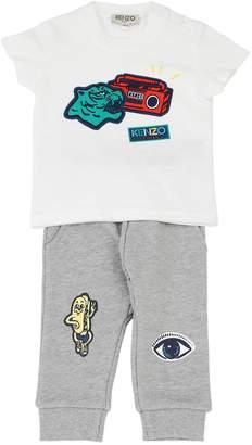 Kenzo Printed Jersey T-Shirt & Sweatpants