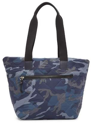 Sondra Roberts Quilted Nylon Tote Bag
