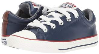 Converse Chuck Taylor All Star Street Leather and Fleece Slip Boys Shoes