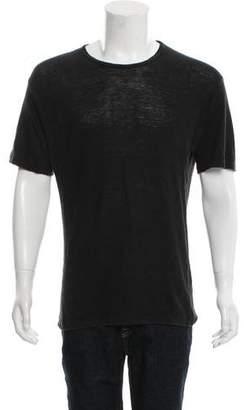 Michael Kors Linen Crew Neck T-Shirt