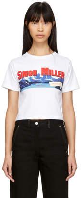 Simon Miller White Cropped Mountain Rondo T-Shirt