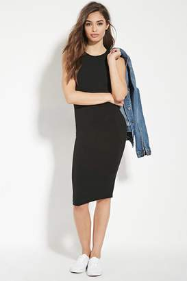 FOREVER 21+ Knit Bodycon Dress $9.90 thestylecure.com