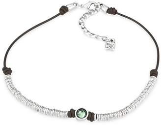 """Uno de 50 Green Berry Crystal Necklace, 14"""""""
