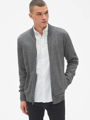 Gap Full-Zip Bomber Sweater