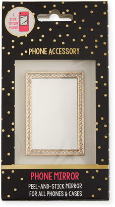 Tricoastal Design Tri Coastal Design Crystal Mirror Phone Sticker, Gold