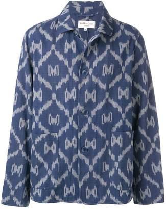 YMC pattern shirt jacket