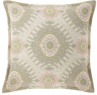"""Isabella Collection Lisette Pillow, 18""""Sq."""