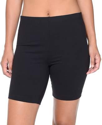 Danskin Women's Solid Bike Shorts
