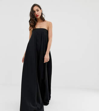07d923367677 Asos Tall EDITION Tall Bandeau Wide Leg Jumpsuit