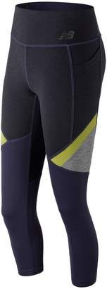 New Balance Women's Transform Pocket High-Waisted Capri Leggings