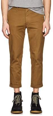 Visvim Men's Cotton Twill Crop Trousers