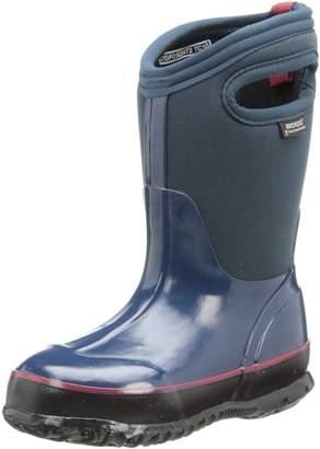 Bogs Classic Solid Waterproof Winter & Rain Boot (Toddler/Little Kid/Big Kid)