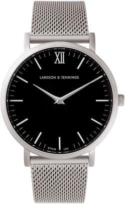 Larsson & Jennings LJ-W-CM-SLVRM Lugano 40 Mesh Watch