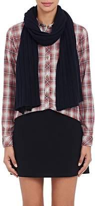 Barneys New York Women's Rib-Knit Cashmere-Silk Scarf