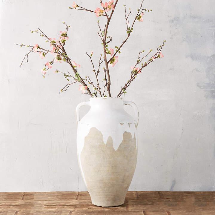 Dipped Terracotta Vase